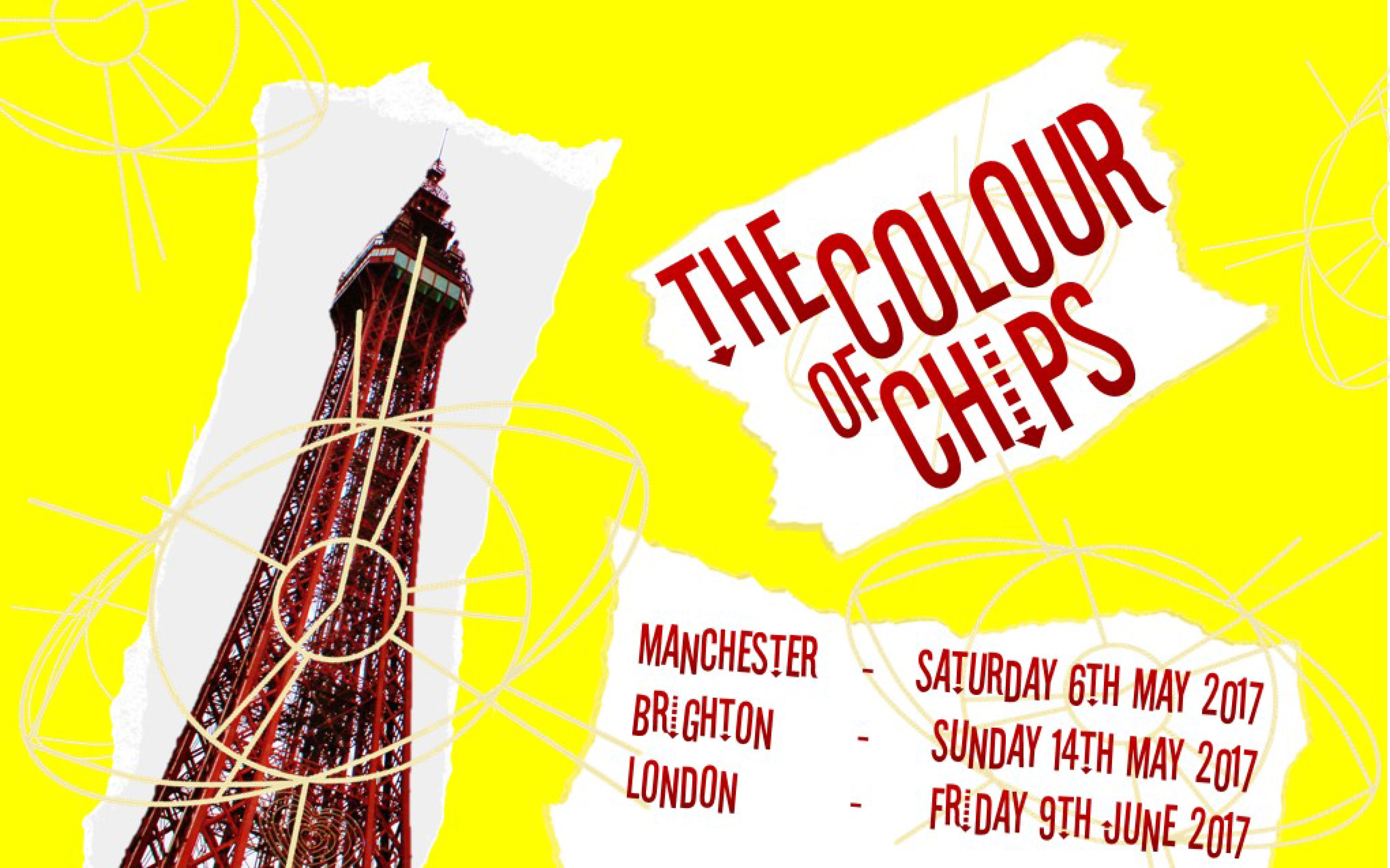 2 colour poster design - The Colour Of Chips Imagined Film Poster Copyright Sophie Goodman